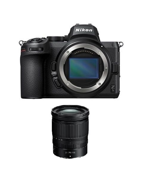 كاميرا نيكون Z5 بدون مرآة مع عدسة 24-70 مم(VOK040XM)