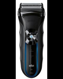 ماكينة حلاقة براون جهاز قص ثلاثي الحركة ، أداة تهذيب الشعر الطويل، مقاومة للماء 100%، تعمل سلكي ولاسلكي (330S-4)