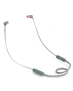 JBL T110BT Wireless In-Ear Headphones- GRAY (T110BTGRY)