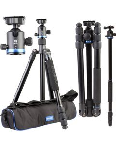 Benro iFoto FIF28AIB2 4 Section Aluminium Tripod + IB2 Ball Head (BENRO-FIF28AIB2)