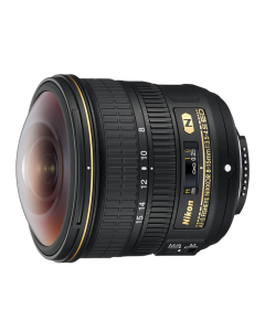 عدسة نيكونAF-S FISHEYE NIKKOR 8-15mm f/3.5-4.5E ED (JAA831DA)