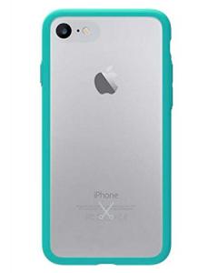 Philo Slim Bumper Hard Case For iPhone 7 / 8 + Light Blue (PH021LB)