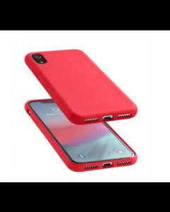 Cellularline sensation-iPhone XR- غطاء احمر اللون(SENSATIONIPH961R)