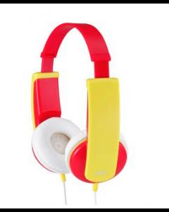 JVC سماعات الرأس للأطفال مع خاصية التحكم بالصوت(HA-KD5-R-EF)