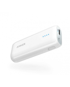 Anker power bank Astro E1 - 6700 mAh- black with IQ charging- White  (A1211H25)