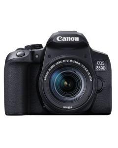 كاميرا EOS 850D كانون (EOS850D) مع عدسة 18-55 24MP + حقيبة + بطاقة ذاكرة 16 جيجابايت