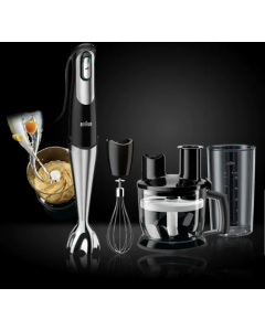 Braun Multiquick 7, MQ 775, Hand Blender Patisserie Black/stainless steel (BRMQ775)
