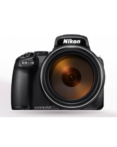 كاميرا نيكون شبه احترافية كولبكس P1000 تقريب 125 X فيديو K4 + جهاز تحكم عن بعد ML-L7  + بطاقه ذاكره 16 جيجابايت (VQA060MA)