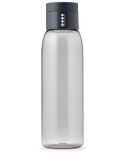 Joseph Joseph Dot Water Bottle with Hydration Counting 600ML- Grey(81053)