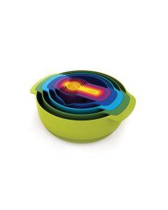 Joseph Joseph Nest™ 9 Plus 9-piece nesting bowl set (40031)