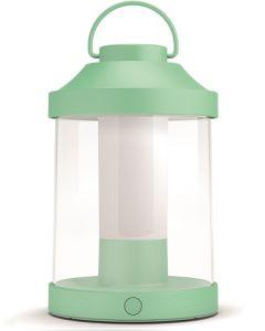 Philips Abelia Portable Lantern IP44, 2700K, DIM, 350LM, Mint Green (PHI-915005544601)
