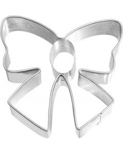 Birkmann Cookie Cutter Bow, Stainless steel, with internal detailing, 6.5 cm (190931)