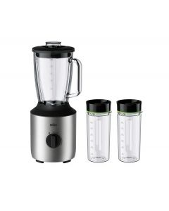 Braun PowerBlend 3 Jug blender with 2 bottles (JB3272SI)