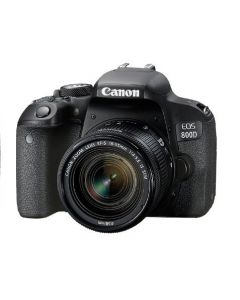 كانون كاميرا احترافية ، مستشعر سي موس ،24.2 ميجابيكسل (EOS800D) + بطاقة ذاكرة 16 جيجابايت + حقيبة