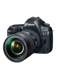 Canon EOS 5D Mark IV DSLR Camera, 30.4 MP with 24-105mm lens, Black (EOS5DMK4)