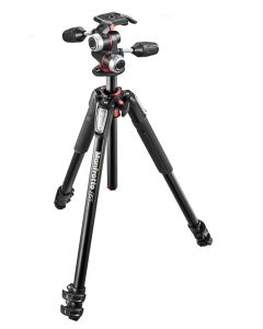 Manfrotto 055XPROB Pro Tripod Black with 3-Way Head (MK055XPRO3-3W)
