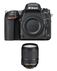 Nikon D750 DSLR body only (VBA420AM) + NPM Card + Memory Card 64GB + NIKON AF-S 24-120mm f/4G ED VR Lens
