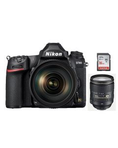 Nikon D780 Camera Body Only (VBA560AM) + Memory Card 16GB + NIKON AF-S 24-120mm f/4G ED VR Lens