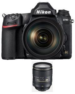 Nikon D780 Camera Body Only (VBA560AM) + Memory Card 64GB + NIKON AF-S 24-120mm f/4G ED VR Lens