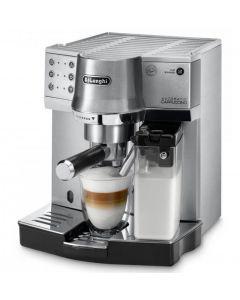 ديلونجي، ماكينة الاسبريسو المتميزة  مصنوعة من الستانلس ستيل  (DLEC860.M)