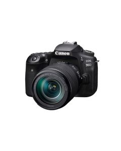 Canon EOS 90D DSLR Camera with 18-135 lens 32MP (EOS90D) + Memory Card 16GB + Bag