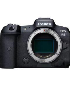 كانون EOS R5 ميرورليس كاميرا (EOSR5-B) + محول