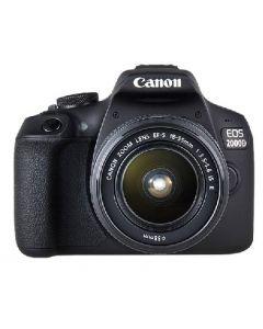 كاميرا كانون (EOS2000D) مع عدسه 18-55 مم +حقيبة+بطاقة ذاكرة 16 جيجابايت