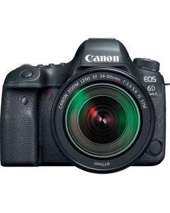 كاميرا كانون اطار كامل مع عدسه 24-105 مم + بطاقة ذاكرة 16 جيجابايت (EOS6DMK2KIT)