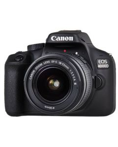 كاميرا كانون (EOS4000D) مع عدسه 18-55 مم  + حقيبه + بطاقه ذاكره 16 جيجابايت