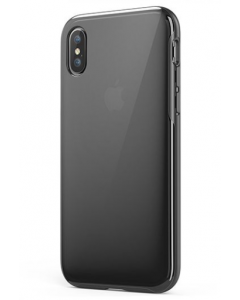Anker Case for Apple iPhone X, Clear and - Black (A9010H11)