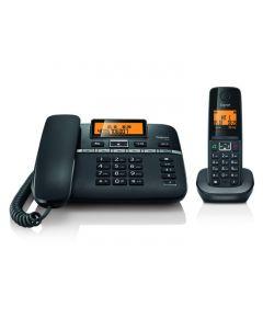 جيجاسيت، هاتف أرضي بمكبر صوت مثبت على القاعدة ومزود بسماعة (C330)