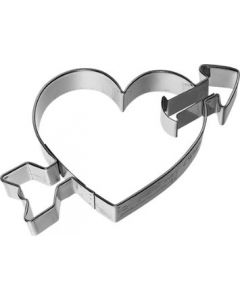 Birkmann Cookie Cutter Heart with arrow 8cm (198128)