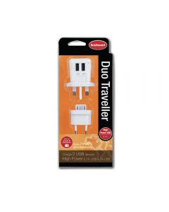 HAHNEL DUO-TRAVEL DUO TRAVELLER (US,UK,EU,AU) Dual USB Charger