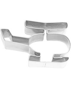 Birkmann Cookie Cutter Helicopter, Stainless steel, 7 cm (193741)