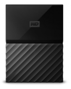 Western Digital 1TB My Passport  Portable External Hard Drive USB 3.0 - Black (WDBYNN0010BBK-WESN)