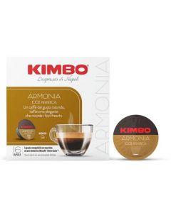 Kimbo Armonia 100% Arabica - Capsule Compatible with Nescafé® Dolce Gusto (K-ARMONI8002200145491)