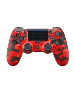 PS4 DualShock4 Controller, Red Camouflage (CUH-ZCT2/REDCAMO)