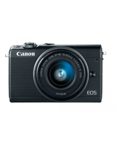 Canon EOS M100 EF-M 15-45mm IS STM Kit Black (EOSM100) + Memory Card 16GB