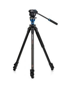 Benro Aluminum Tripod with S2 PRO 60mm Flat Base Video Head (BENRO-A1573S2PRO)