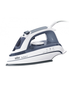 Braun Steam Iron, Grey, 2200W (BRTS375A)