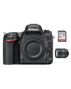 Nikon D750 DSLR body only (VBA420AM) + NPM Card + Memory Card 16GB + NIKON AF-S 24-120mm f/4G ED VR Lens
