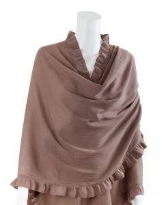 Bebitza Nursing Cover 100% Cotton - Latte (5011)