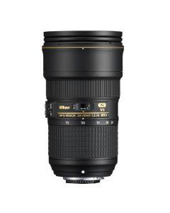 عدسات كاميرا نيكون 24-70 2.8 VR  (JAA824DA) + بطاقة عضويه من نيكون
