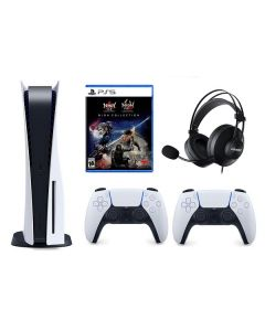 PlayStation®5 with Blu-Ray Disc + Controller + Game + Headset (CFI-1016A)
