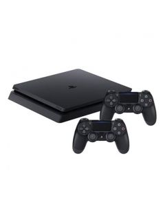 PS4 Slim 1TB + 2 Controller + Plus 14 Days Trial voucher + FIFA20 Ultimate Team Voucher (CUH-2216BB/DS4/FUT)