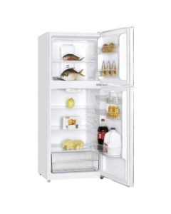 Haier Refrigerator Top Mount, 11.7 Cu.Ft./333 Ltrs, On/Off Compressor, White (HRF-380NW-2)