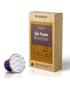 Gourmesso Sao Paulo Blend Forte Capsules for Nespresso Machines (SAO PAULO)