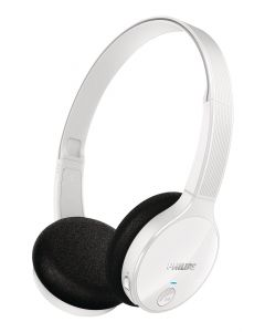 Philips Bluetooth stereo headset, On-ear, White ( SHB4000WT/10)