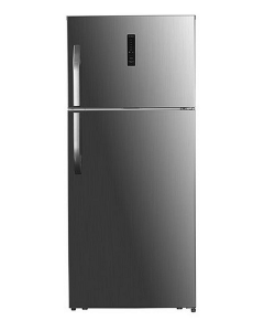 Haier Refrigerator Top Mount, 18.6 Cu.Ft./527 Ltrs, On/Off Compressor, Silver (HRF-680NS-2)