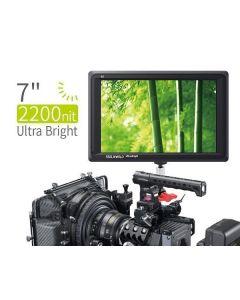 FEELWORLD FW279 7 Inch 2200nit Daylight Viewable Camera Field Monitor 4K (FEELWORLD-FW279)